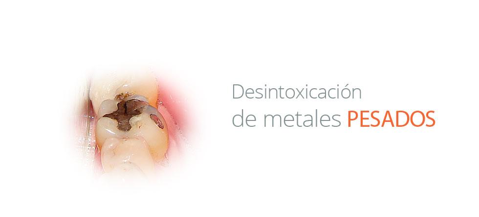 DESINTOXICACIÓN DE METALES PESADOS