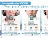 """Campaña del COEM: """"Por una Odontología de calidad"""""""